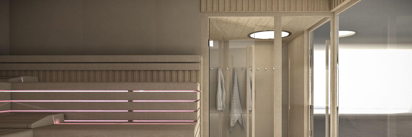 Sauna HEAD 18000x600